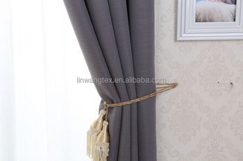 new curtain design 100% polyester blackout woven window curtain fabric