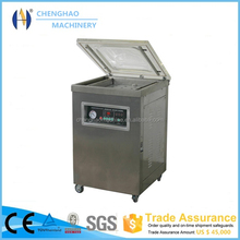 CHENGHAO Brand dz-400/2sb double chambers 2012 new design vacuum food sealer CE Approved