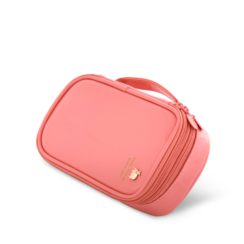 Original design high quality cosmetic pouch travelling toiletry bag with compartment