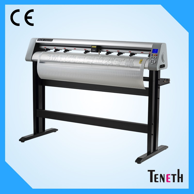 Vertical cutting vinyl plotter 220v vynil cutter plotter optical eye servo motor vinyl cutter