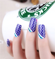 Wholesale beauty women and girl nail art decoration nail art wraps designer nail sticker