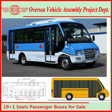 25 Seats Popular Nigeria Low Price Passenger City Bus for Sale