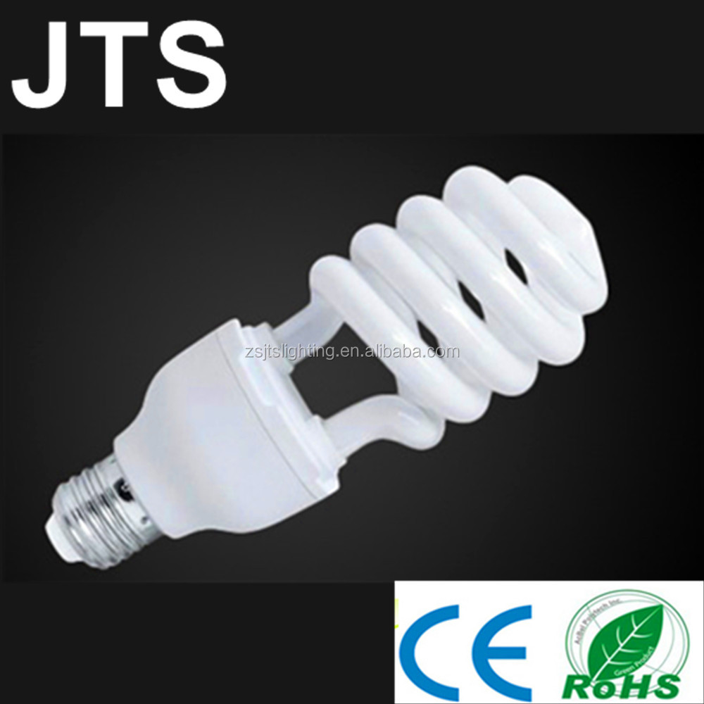 High cost performance Half spiral Energy Saving lamp 35W 12mm