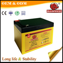 Green cycle motorcycles batteria 12v 17ah lead acid storage battery