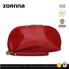 Wholesale price hot selling convenient ladies promotional pu cosmetic bag for travel