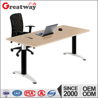 modern modular green material good price powder caoted structure office furniture(QF-101)