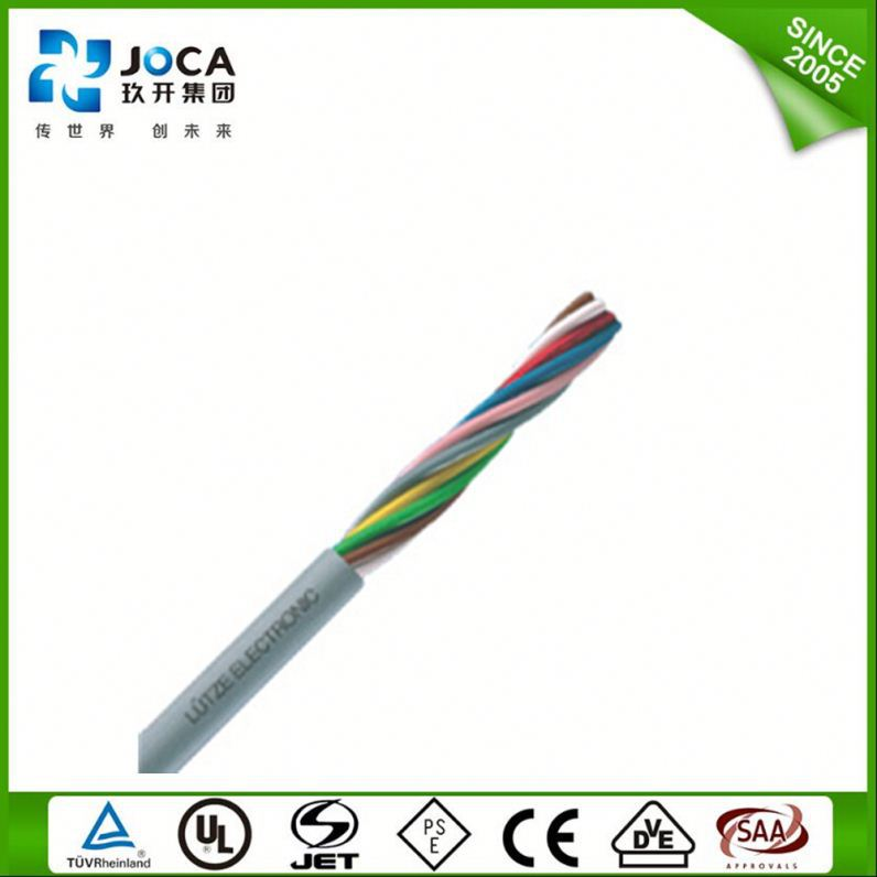 high quantity liyy/liycy flexible control power cable data transfer cable 4*0.5mm/5*0.5mm/6*0.5mm