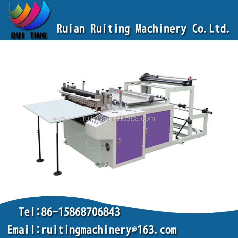 FQ-1200 paper/pvc printed paper computer roll to sheet cross cutting machine