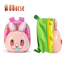 Wholesale Pet Waterproof Mini Small Custom 3d Cartoon Trolley Travelling Child Kid PE School Bag Set Backpack Bag