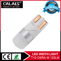 New arrival canbus T10/W5W/194/2825 led auto light bulb with red/white/blue/amber/yellow color