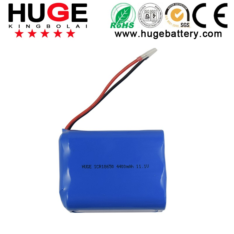 3.7V ICR18650 cylindrical lithium ion battery