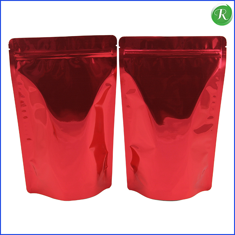 Stand Up Pouch For Cereal Food Packaging , Zip Lock Poly Bags