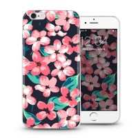 Wholesale cell phone accessories for iPhone 5s 6 plus case for huawei p8 lite with retro flower design