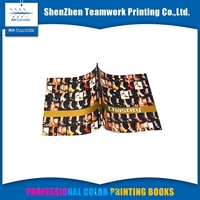 Softcover Book Printing Custom Full Color