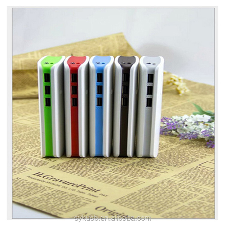 3 USB High Capacity Power Bank 10000mAh