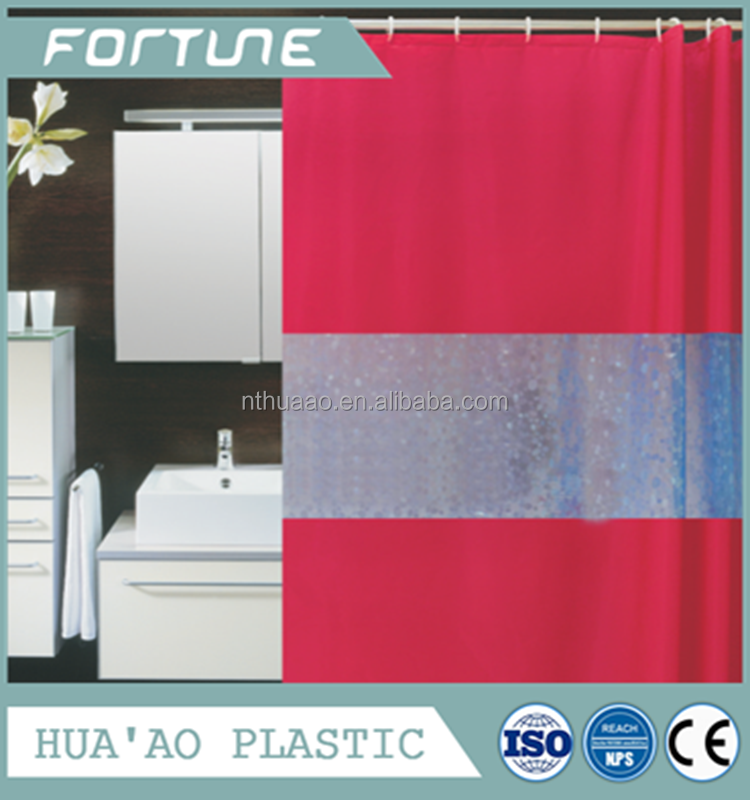 3D Line shower curtains PEVA curtains for bathroom curtains for decorating home
