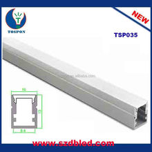 U Shape Led Aluminum Profile Channel With Diffuser Cover