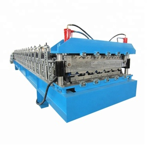Roll former factory making top quality double layer glazed tile roof sheet corrugated or trapezoidal wall panel forming machine