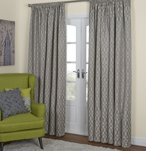 Hot Sell Window Curtain, Faux Linen Curtain