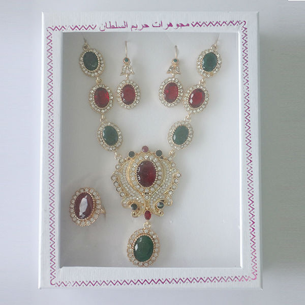 Jewelry Sets Jewelry Type and Anniversary,Engagement,Gift,Party,Wedding Occasion saudi arabian jewelry set