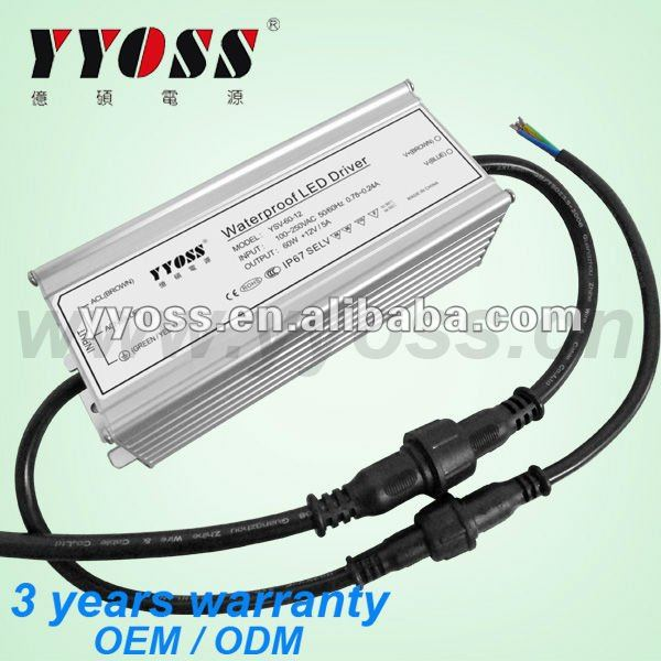 60W Rainproof LED driver circuit with CE, ROHS