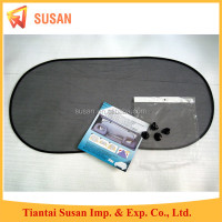 black mesh foldable rear windshield