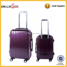 purple lightweight abs trolley luggage/suitcase/trolley case/hard shell luggage