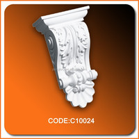 Home decoration material PU decoration polyurethane corbels decorative PU lowes corbels