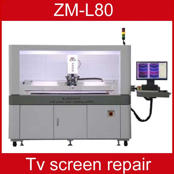 TV laser repair mahine zm-l80 tv lcd panel color lines repairing