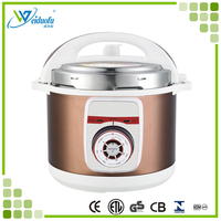 2.2 Large capacity stainless steel electric pressure cooker with ETL CETL