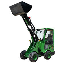 Hot sale new design mini wheel low price telehandler forklift small front end loader