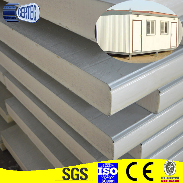 Gel Coated GRP FRP Plywood/XPS/Polyurethane PU Foam/PP Honeycomb Sandwich Panel For Truck Body and