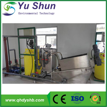 Full Automatic Nickel Sludge Thickening & Dewatering Press Machinery Factory