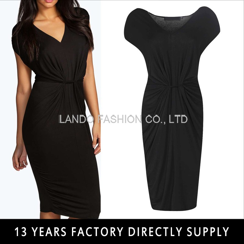 Women Knitting Fashion Bodycon Cap Sleeve Maxi Dress Sexy Club Party Dress