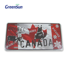 High quality hotsell sublimation aluminum license plate blank