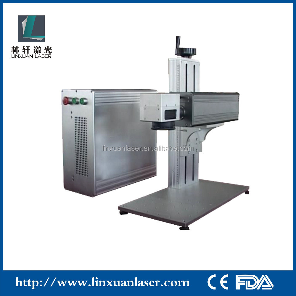 IC card/PCB/Memory card Optical Fiber Laser Marking Machine IC chip