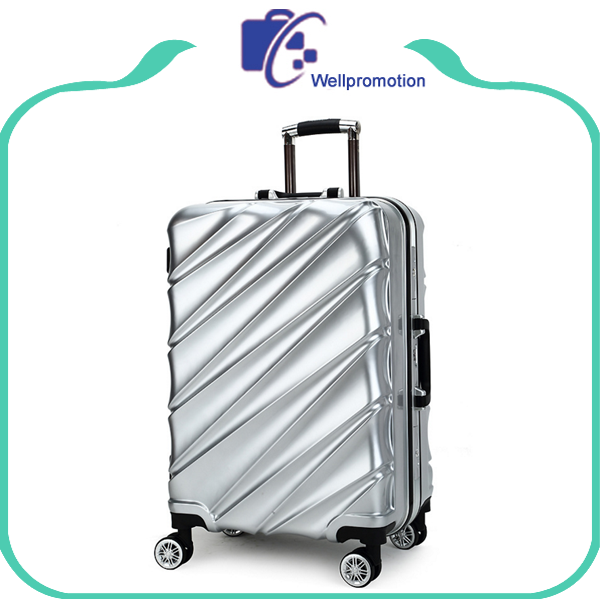 Aluminium trolley luggage bag for travelling