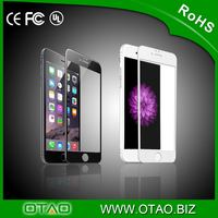 Premium fit new customized OTAO tempered glass screen protector 0.15mm full size for iPhone 6/6 plus
