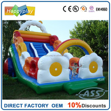 inflatable slide slip and slide kids slide