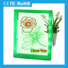 [ZD] New design attractive neon effect glow art led drawing board