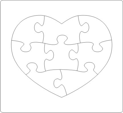 JIgsaw puzzle die cutter 600x850mm-2000pcs Standard design