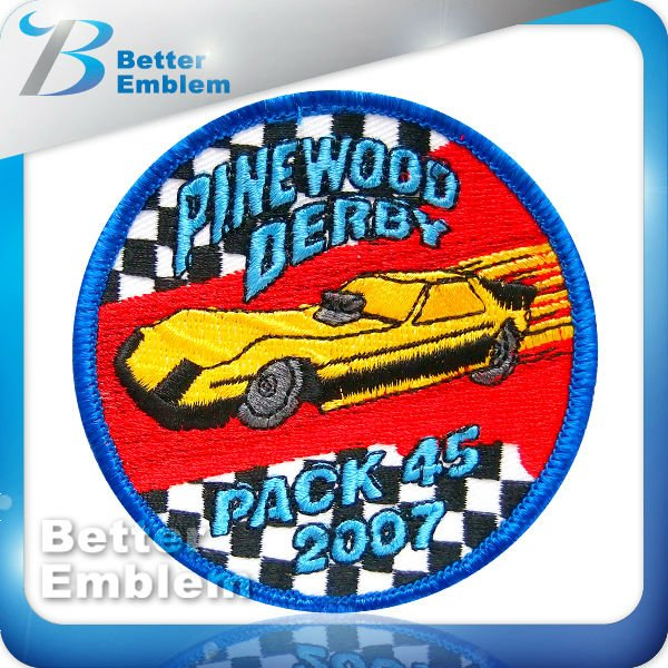Embroidery Racing Patch
