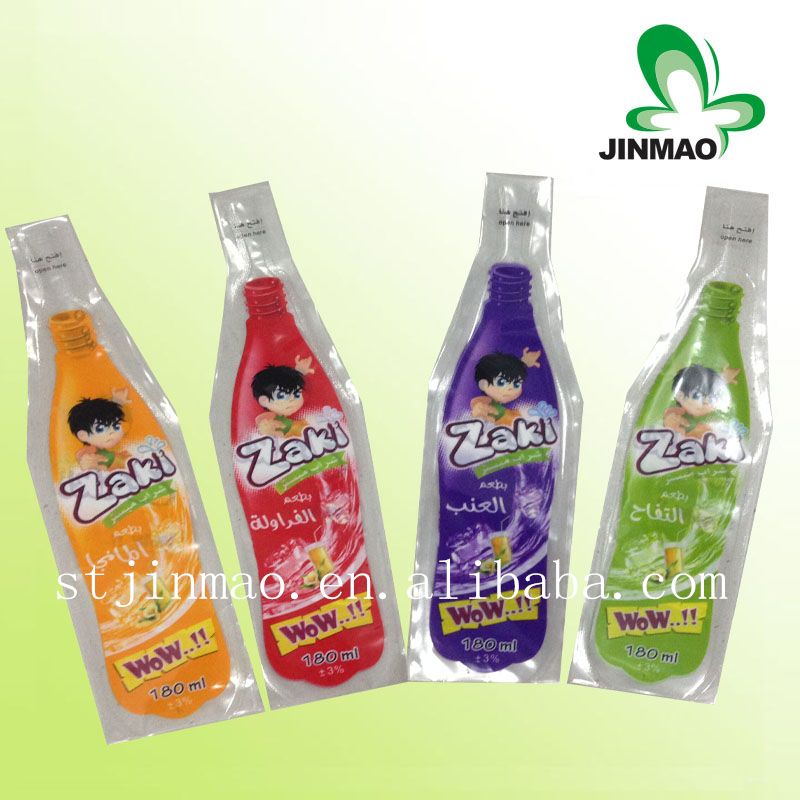 Hot sell Top quality fruit juice pouch packaging material