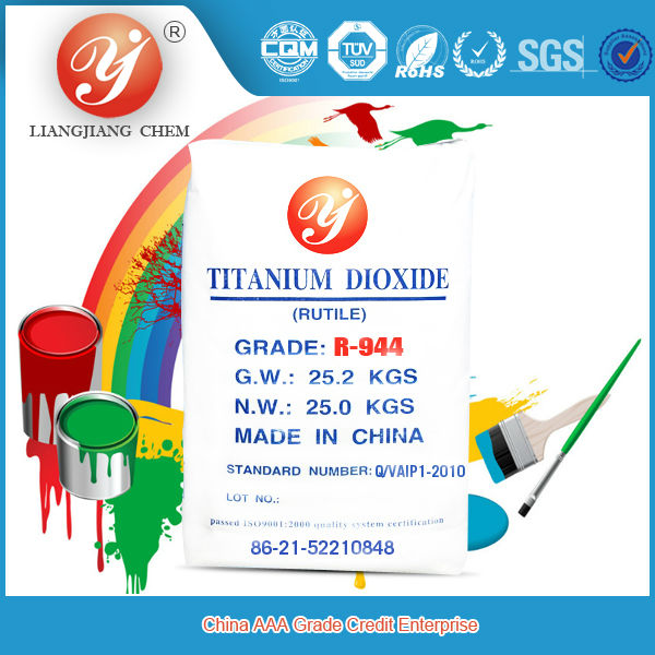 Hot sale rutile titanium dioxide WHITE PIGMENTS