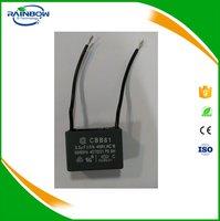 ac capacitor 450v cbb61 fan capacitor 3.5uf 450vac 3.5uf capacitor
