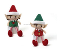 DELUXE PLUSH hanging CHRISTMAS toys cute elf plush toys to Christmas Toys, Toy Skins, Swing Toy