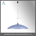 Top sale residential acrylic imitation crystal dining room suspended light E27 lamp source
