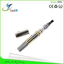 KTS with X8 clearomizer telescopic storm e cig in chrome and gold color