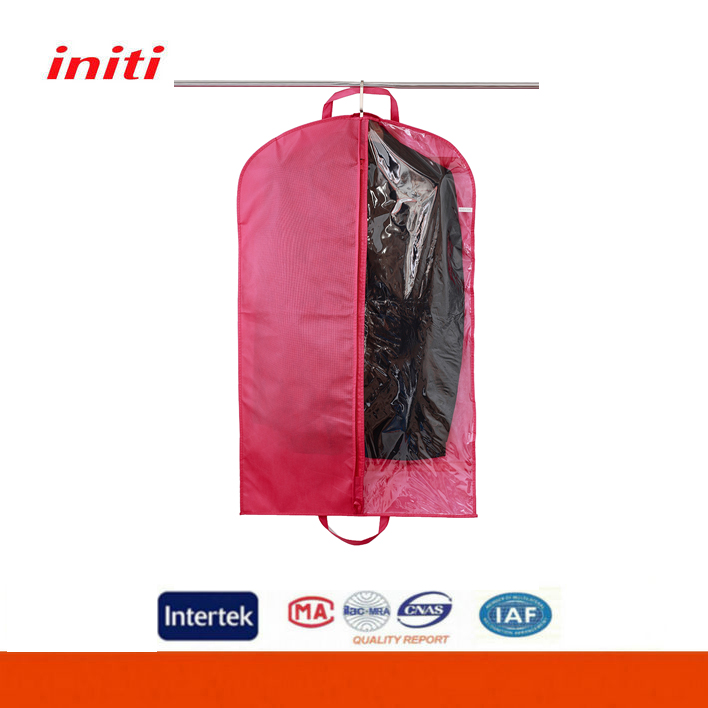 2016 High Quality OEM Non Woven Foldable Garment Bag