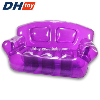 inflatables relaxing purple bubble couch sofa